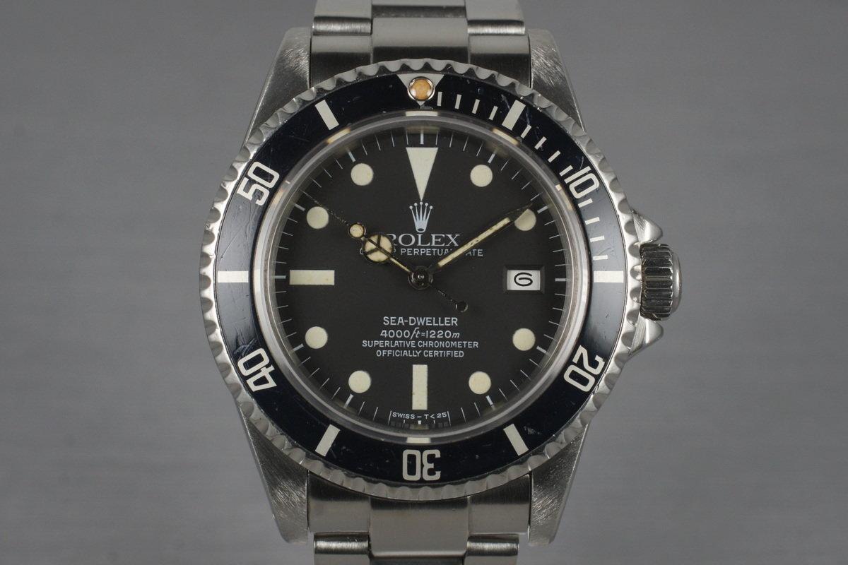 1984 Rolex Sea Dweller 16660 photo, #0