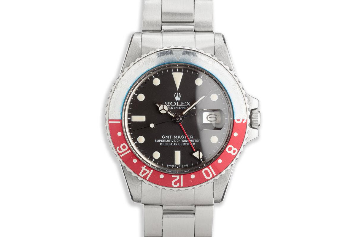 1979 Vintage Rolex GMT-Master 1675 photo, #0