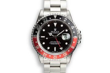 "1988 Rolex GMT-Master II 16710 ""Coke"" with Box and Papers photo"