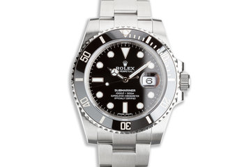 2020 Rolex Submariner 116610LN with Box & Card photo