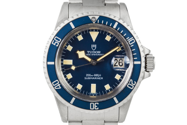1979 Tudor Submariner 94110 Blue Snowflake photo