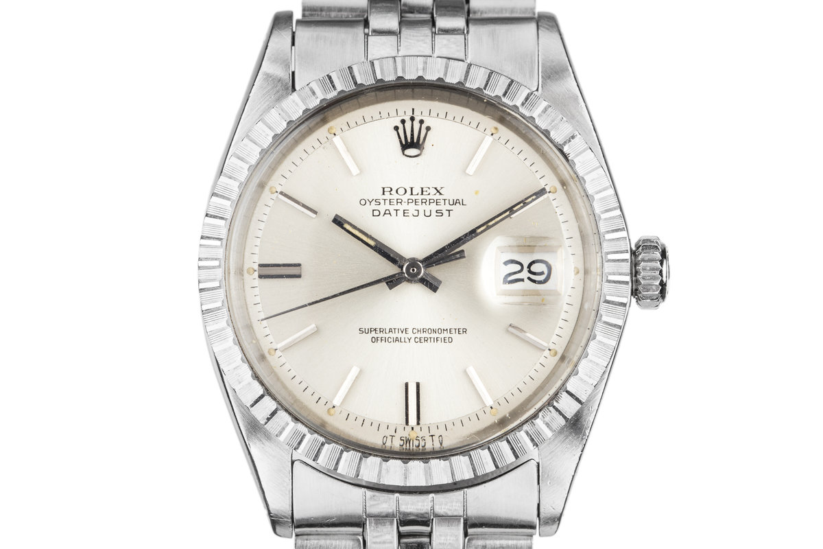 1972 Rolex DateJust 1603 with Silver Sigma Dial photo, #0