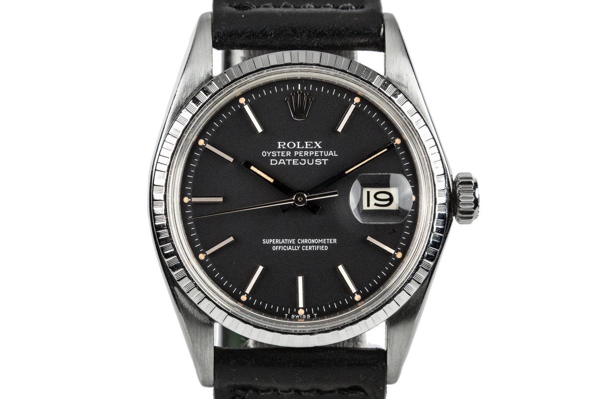 1969 Rolex Datejust 1603 Black Dial photo, #0