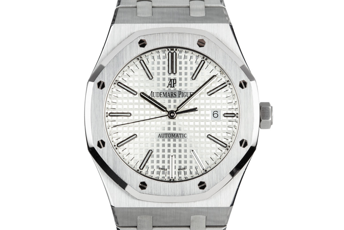 2016 Audemars Piguet Royal Oak 15400ST with Box and Papers photo, #0