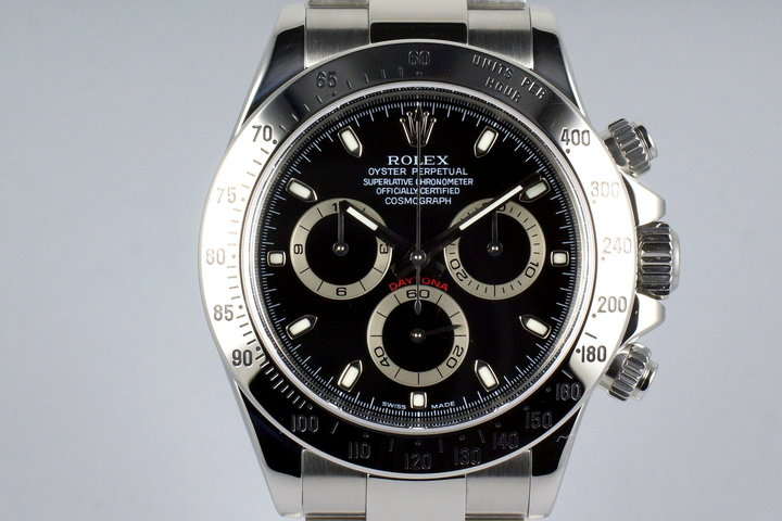 2005 Rolex Daytona 116520 Black Dial with Box and Papers photo