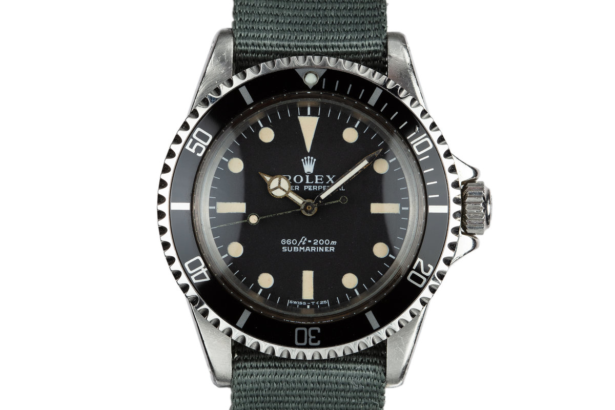 1970 Rolex Submariner 5513 photo, #0