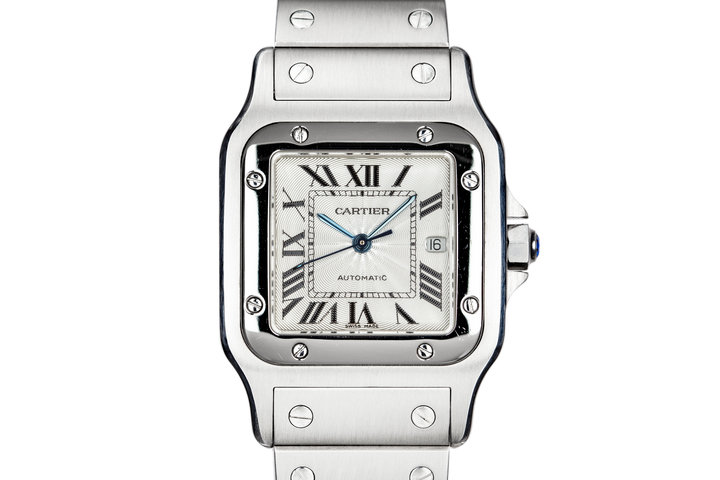 Cartier Santos Galbee 2319 with Box photo