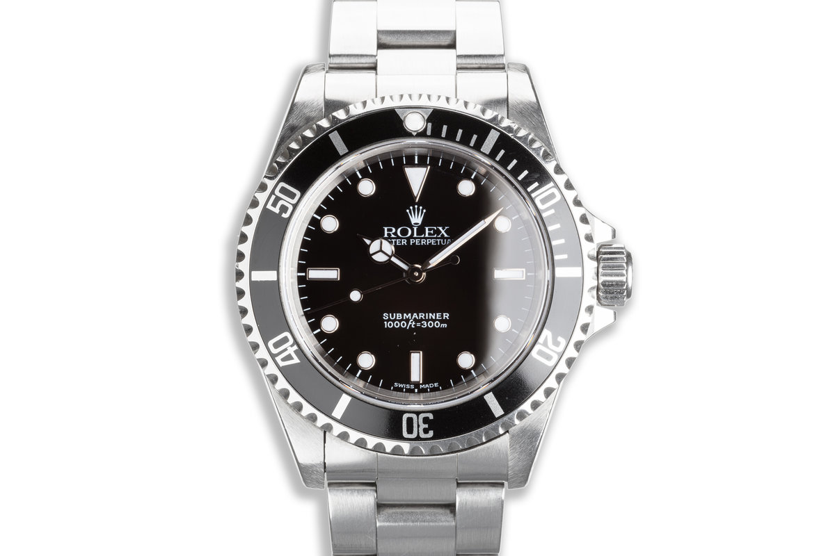 2000 Rolex Submariner 14060 with Box & Papers photo, #0
