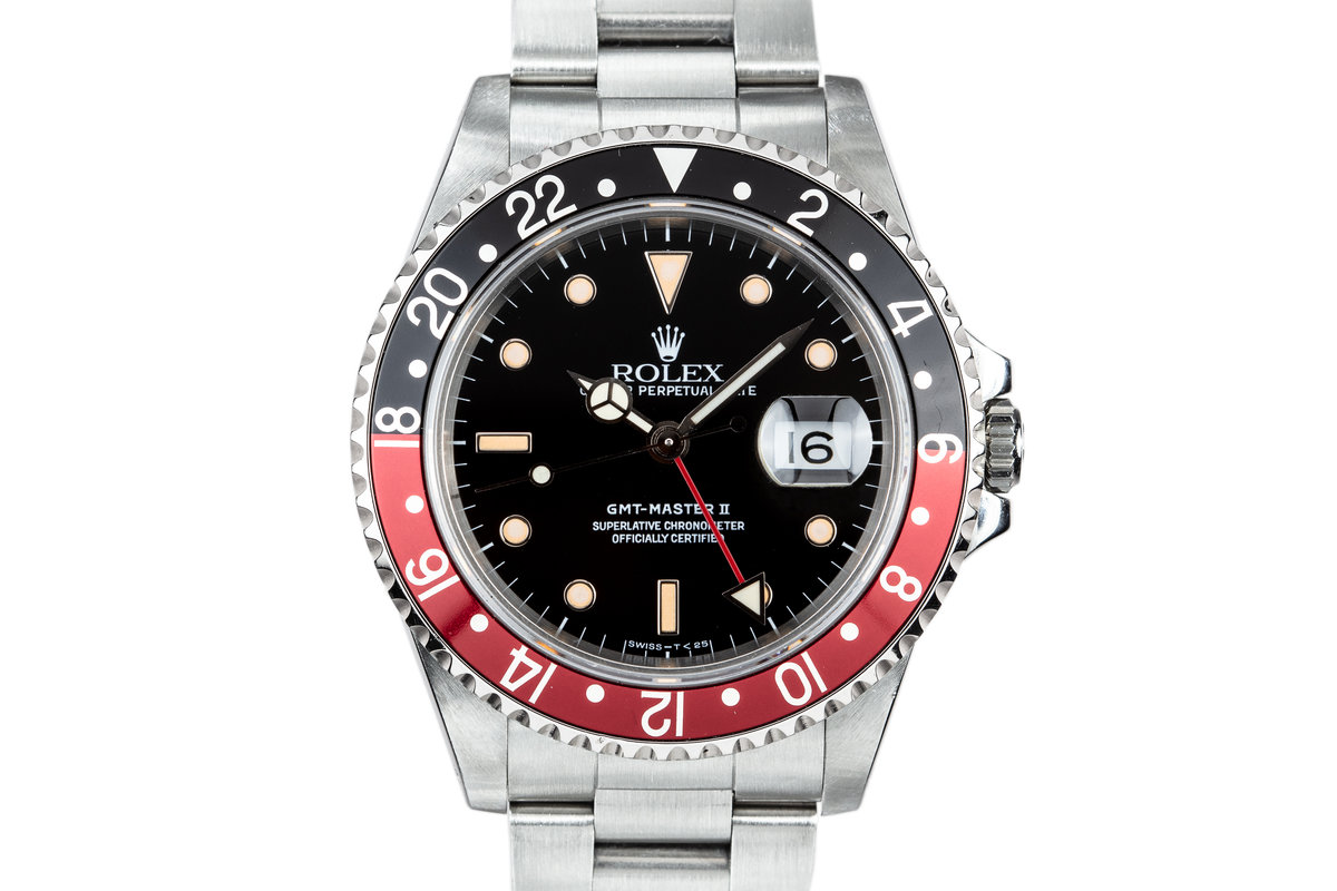 """1989 Rolex GMT-Master II 16710 """"Coke"""" with Hang Tags photo, #0"""
