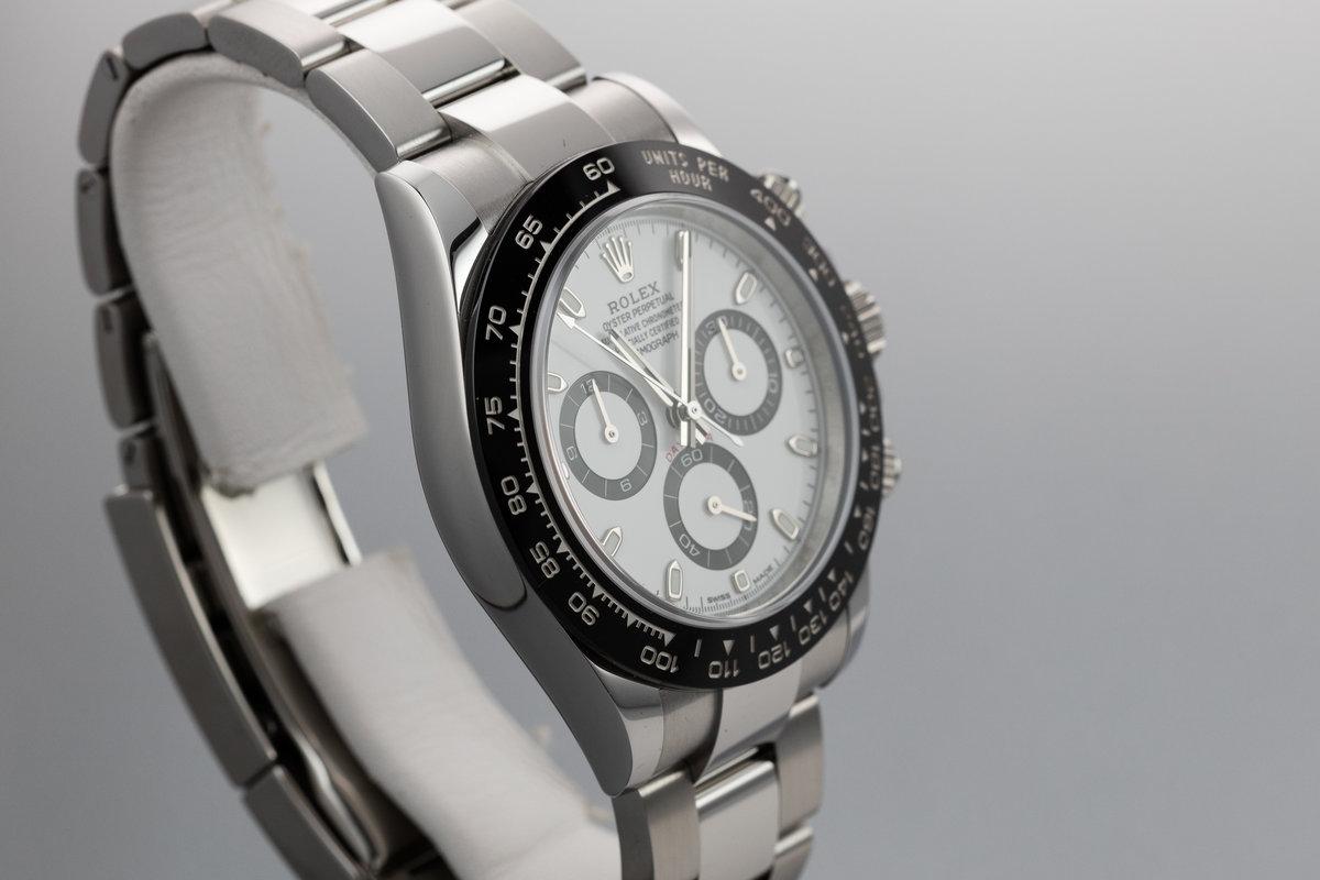 competitive price a1f5c a33b9 HQ Milton - 2018 Rolex Ceramic Daytona 116500LN White Dial ...