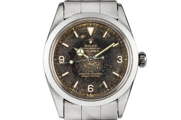 1963 Rolex Explorer 1016 with Aged Tropical Gilt  Dial photo