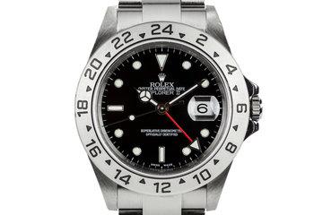 2005 Rolex Explorer II 16570 Black Dial photo