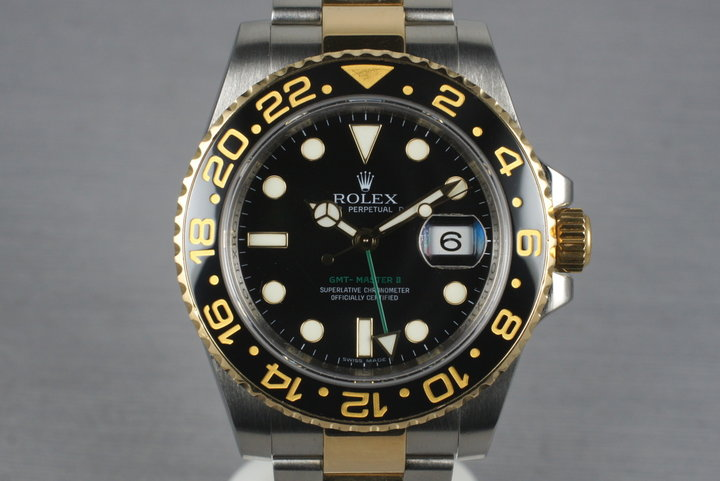 2006 Rolex Two Tone GMT II 116713LN photo