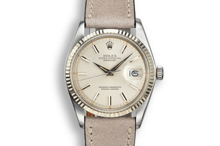 1978 Rolex DateJust 1601 Silver Dial photo