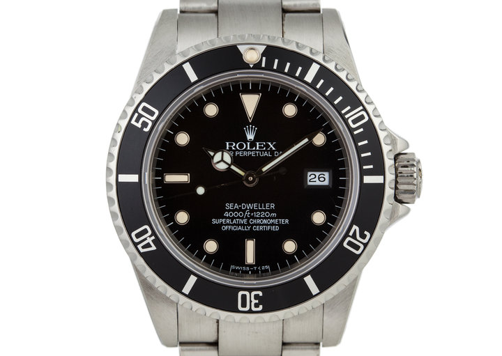 1984 Rolex Sea Dweller 16660 with Box and Papers photo