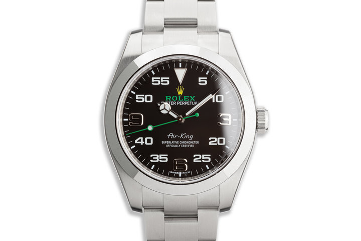 2020 Rolex Air-King 116900 with Box and Card photo