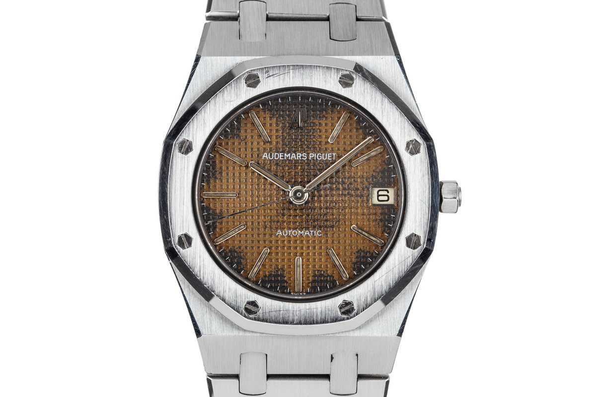 Audemars Piguet Mid Size Royal Oak 4100ST with Coppery Patina Dial photo, #0