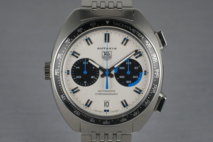 2004 Tag Heuer Autavia CY2110 White Dial with Box and Papers photo