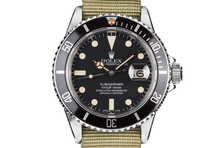 1982 Rolex Submariner 16800 Matte Dial photo