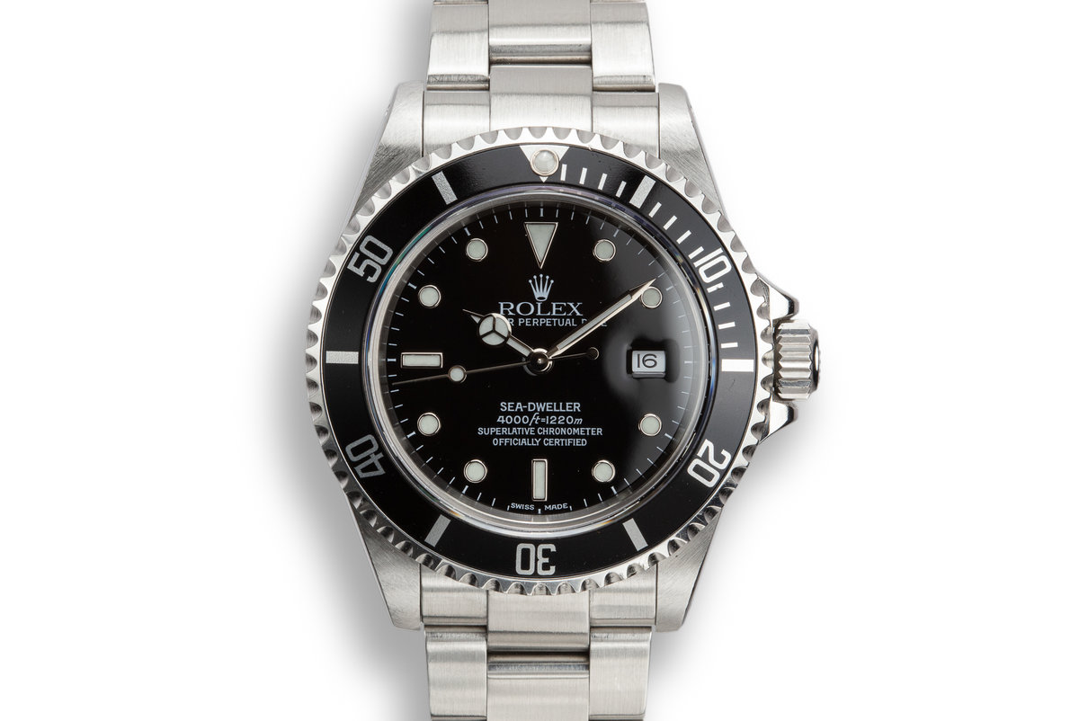 2002 Rolex Sea-Dweller 16600 photo, #0