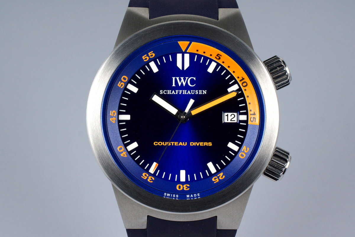 2006 IWC Aquatimer IW354806 with Box and Papers photo, #0