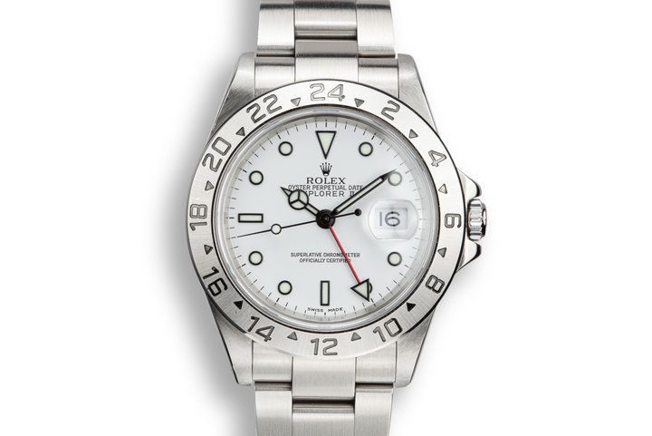 2000 Rolex Explorer 16570 White Dial with Box and Papers photo