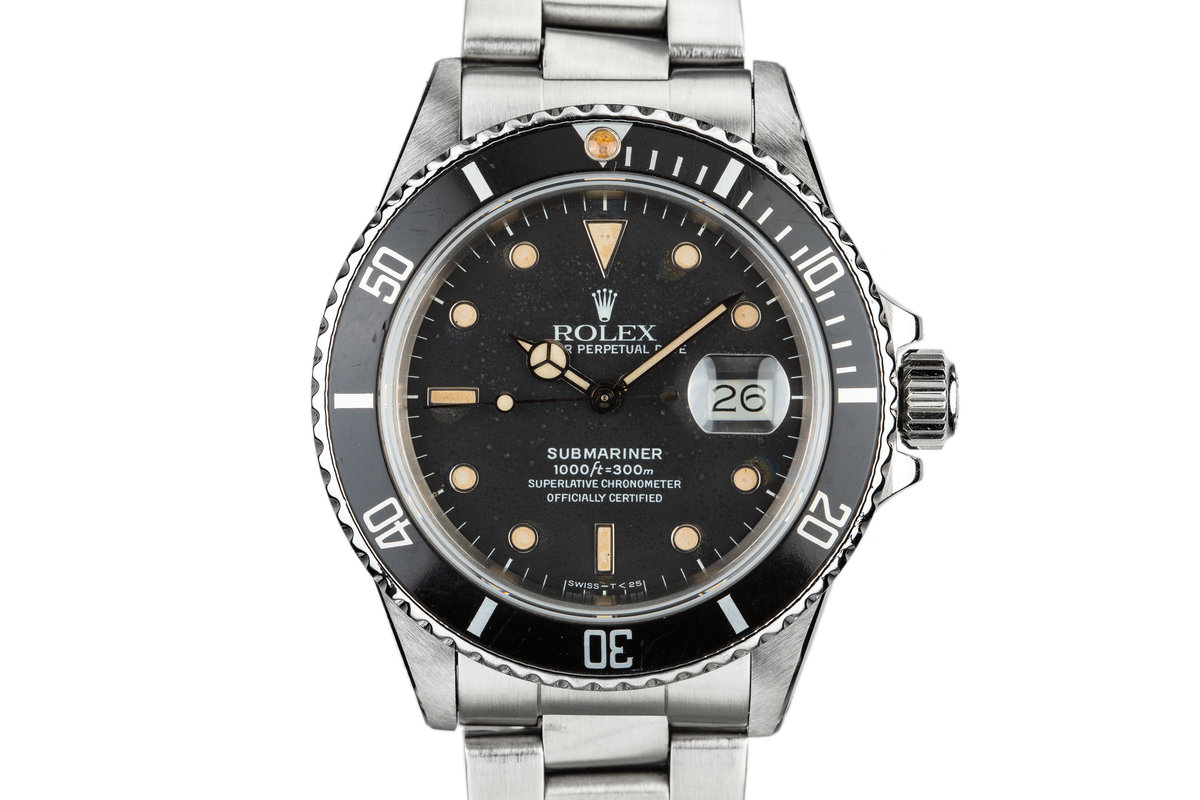 1985 Rolex Submariner 16800 photo, #0