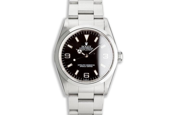 "1997 Rolex Explorer 14270 ""Swiss Only"" Dial photo"