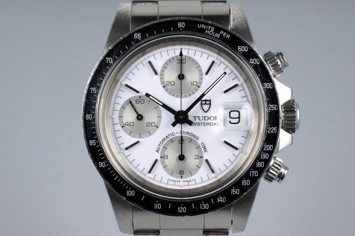 1994 Tudor Chronograph Big Block 79160 White Enamel Dial photo, #0
