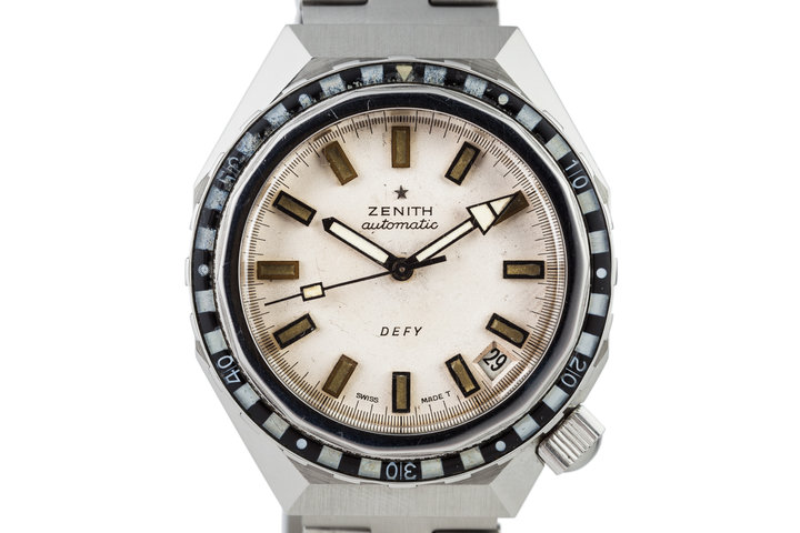 1971 Zenith Defy Dive Watch photo