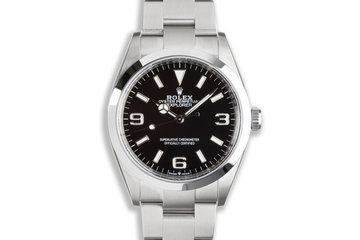 2021 Rolex Explorer 124270 with Box and Card photo