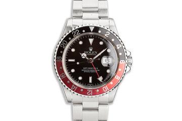 "1998 Rolex GMT-Master II 16710 ""Coke"" Bezel photo"