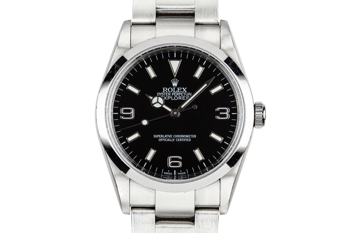 2006 Rolex Explorer 114270 with Box and Papers photo, #0