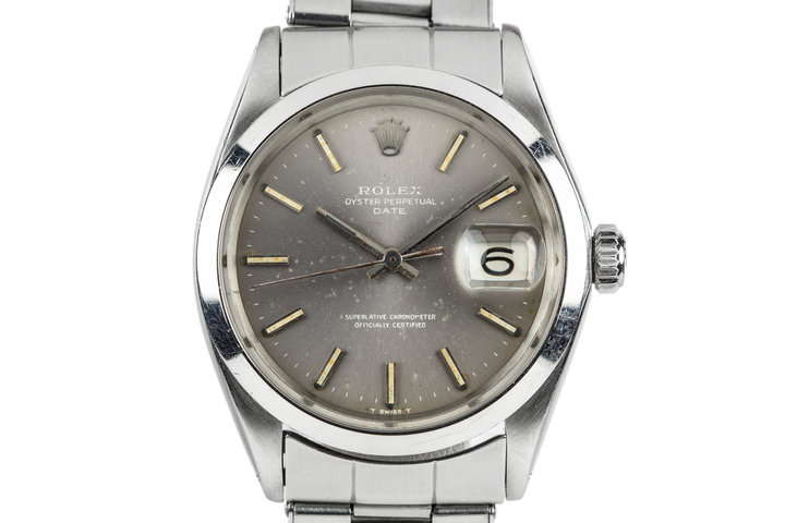 1969 Rolex Date 1500 with Lavender Dial photo