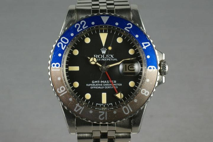 Rolex GMT 1675 photo