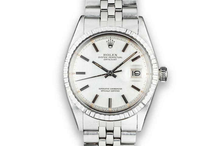 1973 Rolex DateJust 1603 Silver Sigma Dial photo