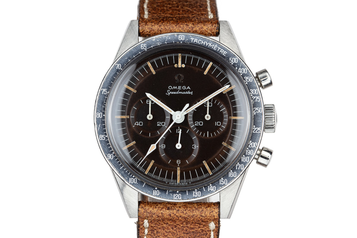 1963 Omega Straight Lug Speedmaster 105.003 with Tropical Dial photo, #0