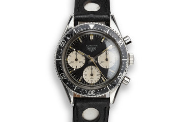 "Heuer Autavia 2446 M ""Jochen Rindt"" Just Serviced with Papers photo"