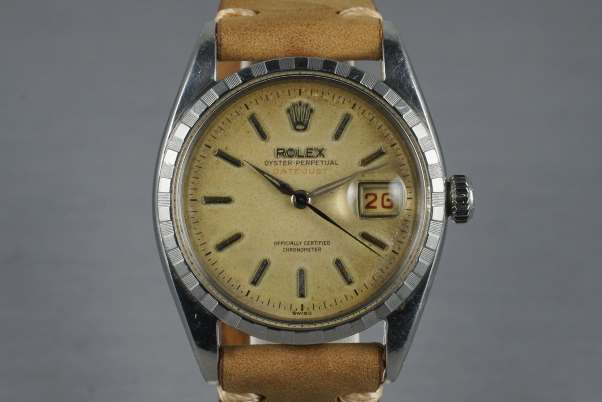 1956 Rolex Datejust 6305 2 with Tropical Dial photo, #0