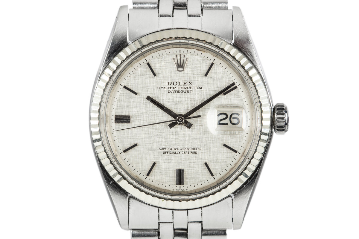 1970 Rolex DateJust 1601 with Linen Dial photo, #0