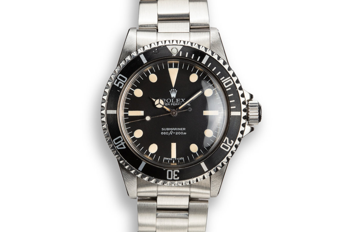 1979 Rolex Submariner 5513 with MK 3 Maxi Dial photo, #0