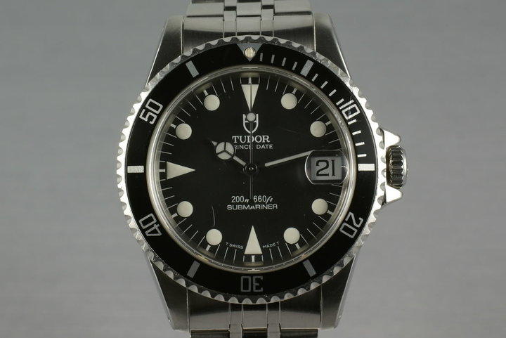 Tudor Submariner  75190 Rolex Crown Club photo