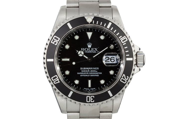 2001 Rolex Submariner 16610 photo