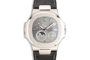 2019 Patek Philippe 18k Nautilus 5712G-001 Grey Dial with Box &  Papers photo