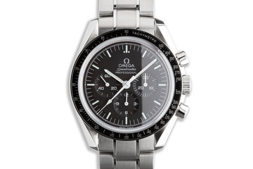2021 Omega Speedmaster Professional 31130423001006 with Box & Card photo