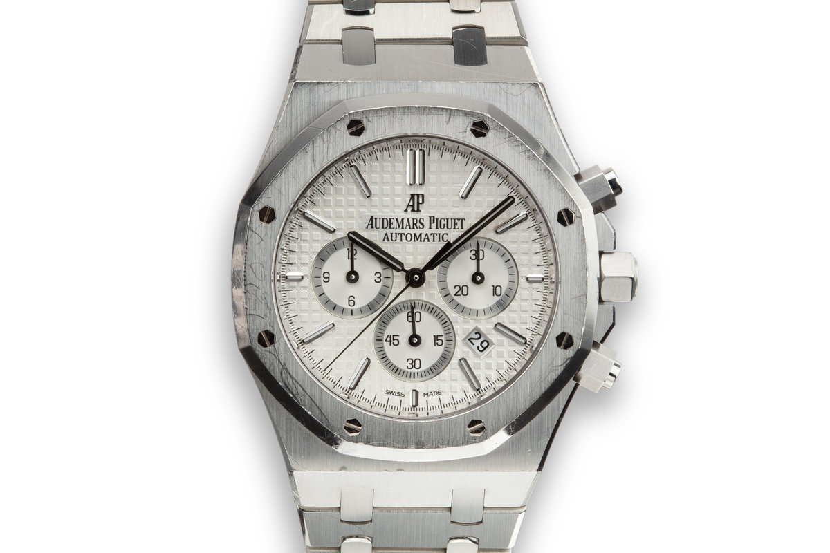 2016 Audemars Piguet Royal Oak 26320ST.OO.1220ST Silver Dial with Box and Papers photo, #0
