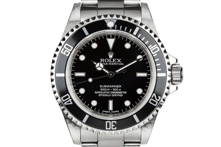 2010 Rolex Submariner 14060 with Box and Papers photo