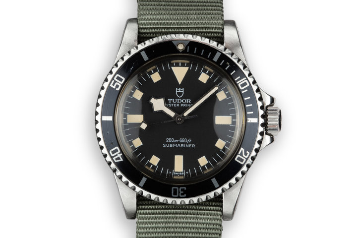1979 Tudor Snowflake Submariner 94010 Black Dial photo