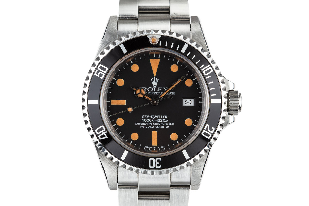 1982 Rolex Sea-Dweller 16660 MK I Dial with Box and Papers photo, #0