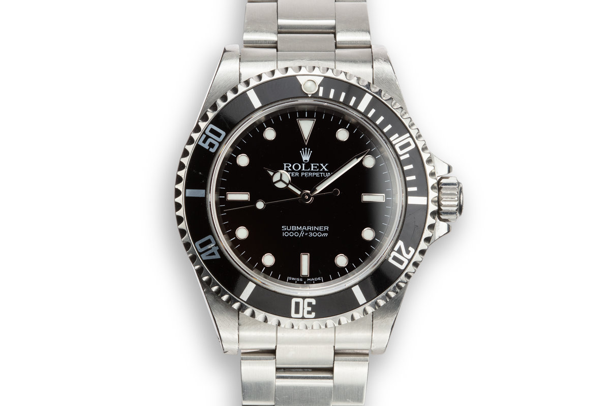 2005 Rolex Submariner 14060M with Box and Papers photo, #0